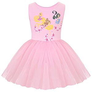 Ballerina Disney Princess Tutu Leotard for Girls