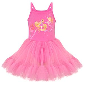 Deluxe Ballerina Disney Princess Tutu Leotard for Girls