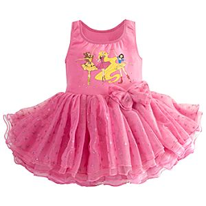 Ballerina Disney Princess Deluxe Tutu Leotard for Girls