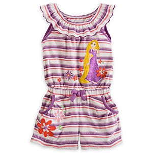 Rapunzel Knit Romper for Girls