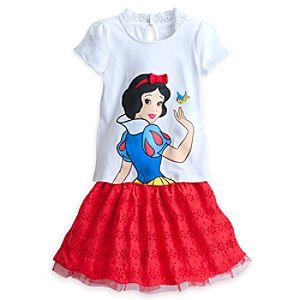 Snow White Skirt Set for Girls
