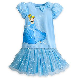 Cinderella Fashion Skirt Set for Girls