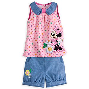 Minnie Mouse Clubhouse Tank and Shorts Set for Girls