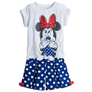 Minnie Mouse Skort Set for Girls