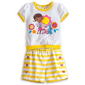 Doc McStuffins Tee and Shorts Set for Girls