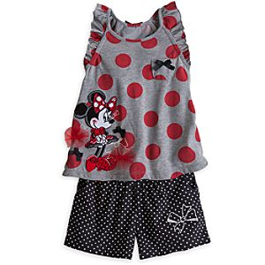 Minnie Mouse Tank and Shorts Set for Girls