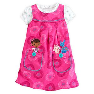 Doc McStuffins Jumper Dress Set for Girls