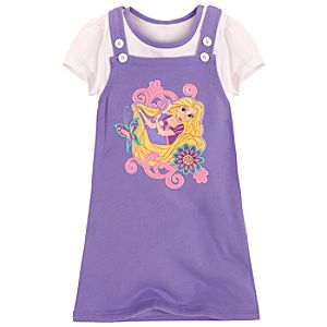 Rapunzel Jumper Set for Girls -- 2-Pc.