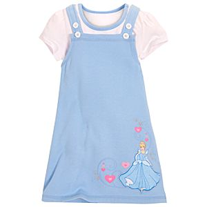 Cinderella Jumper Set for Girls -- 2-Pc.