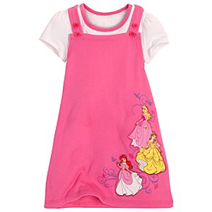 Disney Princess Jumper Set for Girls -- 2-Pc.
