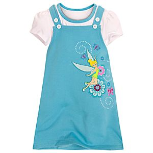 Tinker Bell Jumper Set for Girls -- 2-Pc.