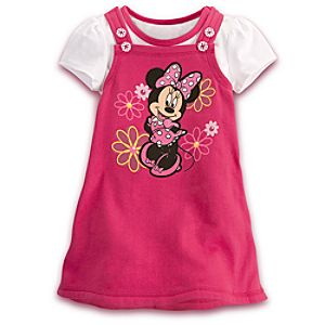 Minnie Mouse Jumper Set for Toddler Girls -- 2-Pc.