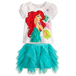 Ariel Skirt Set for Girls