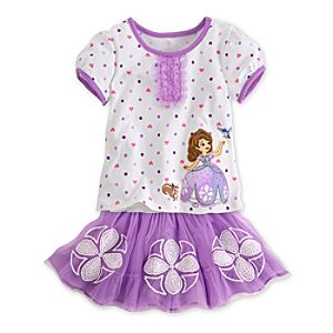 Sofia Tutu and Tee Set