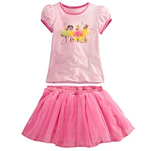 Ballerina Disney Princess Tee and Tutu Set