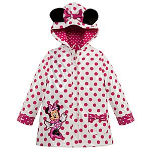 Minnie Mouse Rain Jacket for Toddler Girls