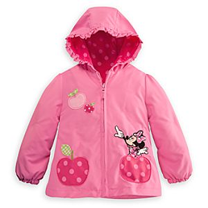Personalizable Hooded Minnie Mouse Jacket for Girls
