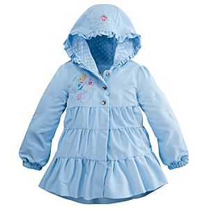 Personalizable Hooded Cinderella Jacket for Girls