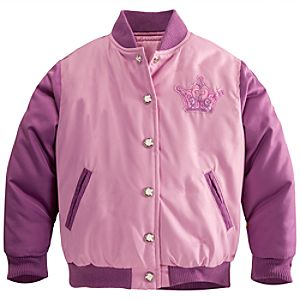 Personalizable Rapunzel Varsity Jacket for Girls
