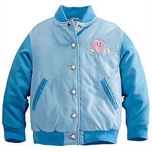 Personalizable Cinderella Varsity Jacket for Girls