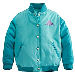 Personalizable Ariel Varsity Jacket for Girls