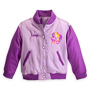 Rapunzel Varsity Jacket for Girls - Personalizable