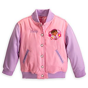 Doc McStuffins Varsity Jacket for Girls - Personalizable
