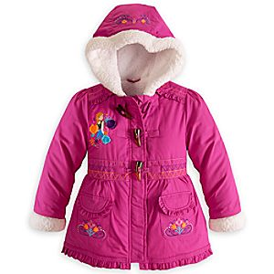 Anna Sherpa Jacket for Girls - Frozen - Personalizable