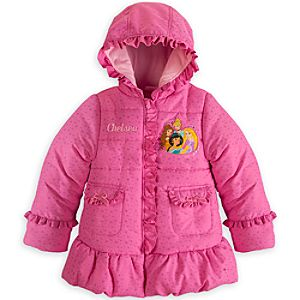 Disney Princess Puffy Jacket for Girls - Personalizable