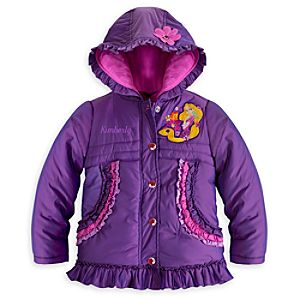 Rapunzel Puffy Jacket for Girls