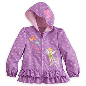 Tinker Bell Lightweight Jacket for Girls