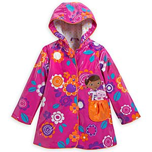 Doc McStuffins Rain Jacket for Girls