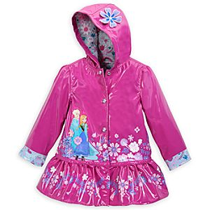 Anna and Elsa Rain Jacket - Frozen