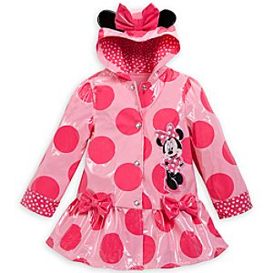 Minnie Mouse Ears Rain Jacket for Girls