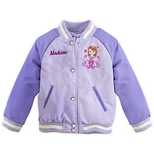 Sofia Varsity Jacket for Girls - Personalizable