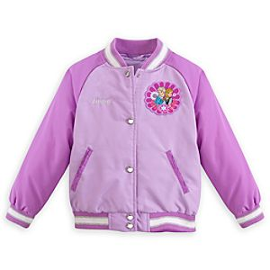 Anna and Elsa Varsity Jacket for Girls - Personalizable