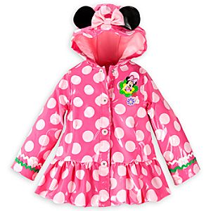 Minnie Mouse Rain Jacket for Girls