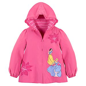 Personalizable Snow White and Cinderella Disney Princess Jacket for Girls