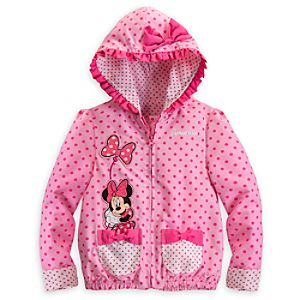 Minnie Mouse Jacket for Girls - Pink - Personalizable