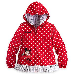 Minnie Mouse Jacket for Girls - Red - Personalizable