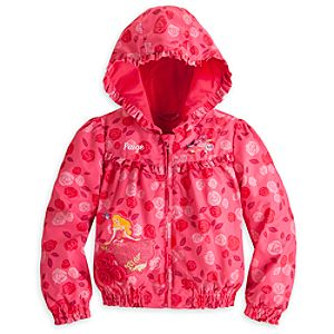Aurora Hooded Jacket for Girls - Personalized