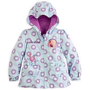 Anna and Elsa Hooded Jacket for Girls - Frozen - Personalizable