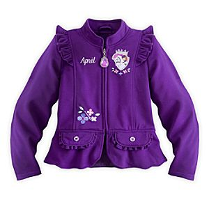 Sofia Ruffled Jacket for Girls - Personalizable