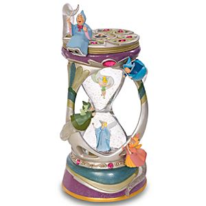 Disney Fairies Hourglass Snowglobe