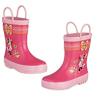 Minnie Mouse Clubhouse Rain Boots for Kids
