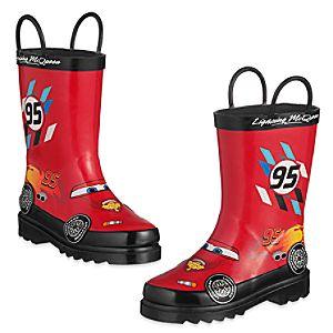 Lightning McQueen Rain Boots for Kids