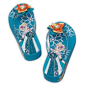 Elsa Platform Flip Flops for Kids