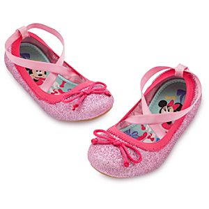 Minnie Mouse Ballet Flat Shoes for Kids