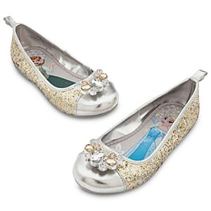Anna and Elsa Flat Shoes for Kids