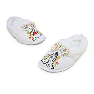 Winnie the Pooh and Eeyore Slippers for Adults